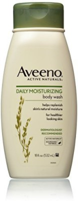 Aveeno Active Naturals Daily Moisturizing with Natural Oatmeal Pack of 3(540 ml)