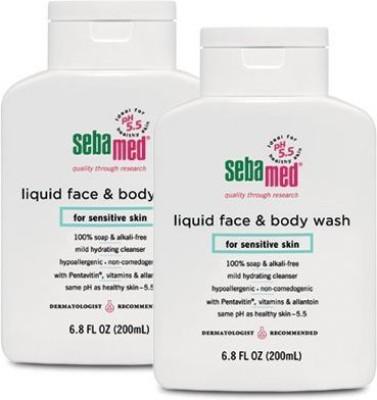 Sebamed Face and Fluid Bottle