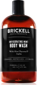 Brickell Men's Invigorating Mint Body Wash