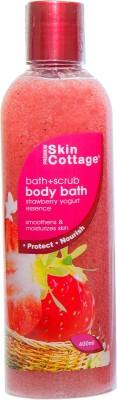 Skin Cottage Strawberry Yogurt Shower Scrub ( Made In Malaysia)