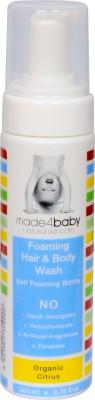 Made 4 Baby Organic Citrus Foaming Hair & Body Wash
