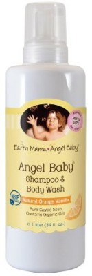 Earth Mama Angel Baby Organic Angel Baby Shampoo And Body Wash