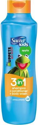 Suave Suave Kids 3 In 1 Shampoo, Conditioner & Bodywash Apple