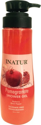 Inatur Pomegranate Shower Gel