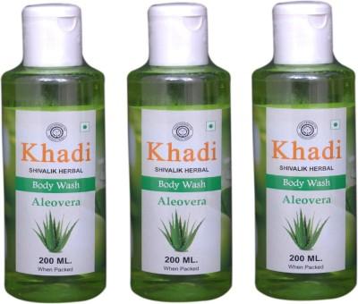 Khadi Natural Aloevera Body Wash