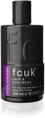 FCUK Vintage Hair & Body Wash