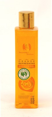 Sreyansh Healthcare Orange Refreshing Shower Gel