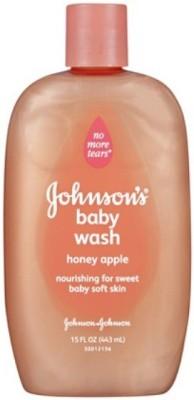 Baby Bucket JOHNSON'S baby moisture wash with honey apple