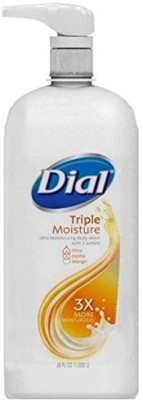 Dial Triple Moisture Ultra Moisturizing Shea Jojoba & Mango Butters Pump Bottles Pack of 2
