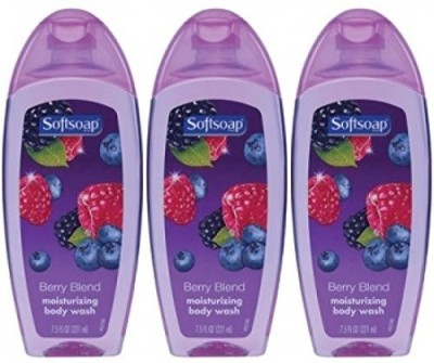Softsoap Pack of Berry Blend Moisturizing 75