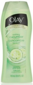 Olay Soothing cucumber concombre apaisant Cleasing Body wash