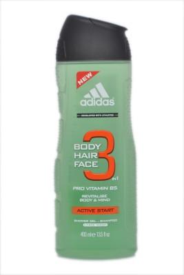 Adidas Body Hair Face 3 In 1 Pro Vitamin B5 Active Start