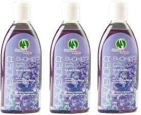 Sreyansh Healthcare Lavender Shower gel combo 3
