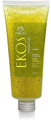 Natura Linha Ekos Sabonete Liquido Esfoliante Maracuja 200 Ekos Collection Passion Fruit Exfoliant Liquid Soap