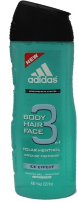 Adidas Polar Menthol Intense Ice Effect Body Hair Face (Imported)