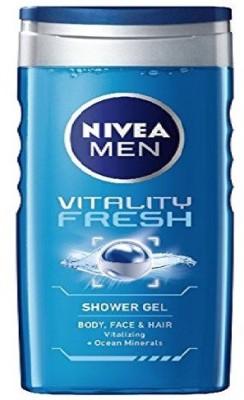 Nivea Vitality Fresh Shower Gel For Men 250 ml