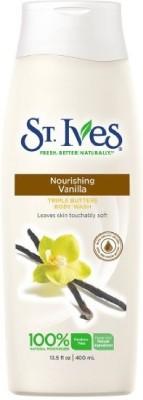 St. Ives Nourishing Vanilla Triple Butter Body Wash