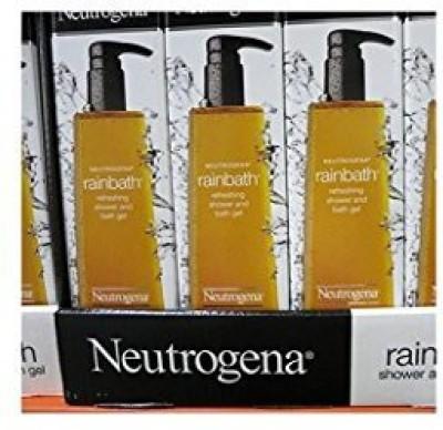 SSW Wholesalers Pack Wholesale Lot Neutrogena Rain Bath Refreshing Shower and Bath Gel 40