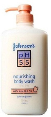Johnson & Johnson Ph 5.5 Nourishing Bodywash 750ml - Almond Oil