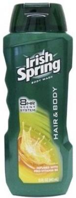 Irish Spring Hair & Body Wash With Pro Vitamin B5 Shower Gel