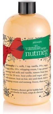 Philosophy Shower Gel Vanilla Bean Nutmeg(473.12 ml)