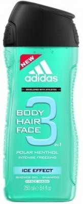 Adidas Polar Menthol Intense Freezing Ice Effect Body Hair Face Imported