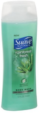 Suave Naturals, Body Wash, Rainforest Fresh -3 Pack(354.84 ml)