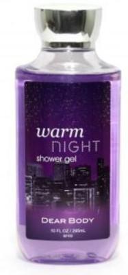 Dear Body Warm Night Shower Gel