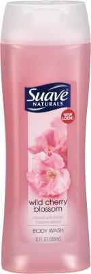 Suave Naturals Wild Cherry Blossom Body Wash