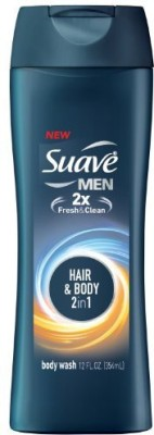 Suave Men's Hair & Body in 1 1 Pack of 6
