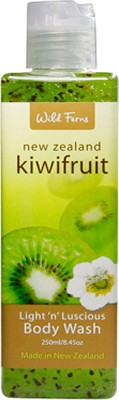 Wild Ferns Kiwifruit Light ,n, Luscious Body Wash
