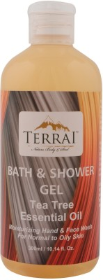 Terrai Tea Tree Essential Oil Shower Gel