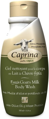 Caprina Body Wash with Olive Oil & Wheat Protein