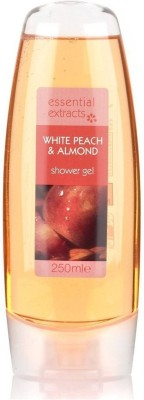 Essential Extracts White Peach & almond Shower Gel