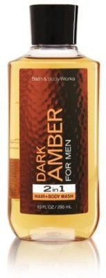 Jitonrad Bath Body Works Dark Amber 2 in 1 Hair
