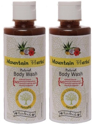Mountain Herbs Natural Body Wash