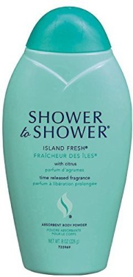 Shower To Shower Shower to Shower Absorbent Body Powder Island Fresh(226 ml)