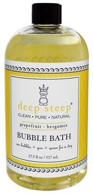 Deep Steep Bubble Bath Grapefruit Bergamot