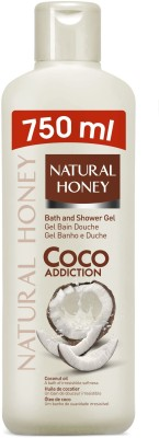 Natural Honey Coconut Oil Shower Bath Gel