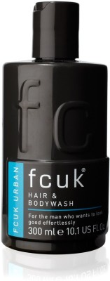 FCUK Urban Hair and Body wash (300 ml)