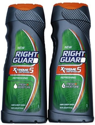 Right Guard Total Defense 16 in 1 Deodorizing Hair & 2 Pack