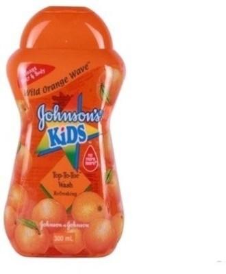 Johnson & Johnson Kid Wild Orange Wave Top-To-Toe Refreshing