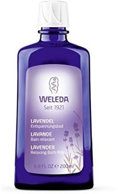 Weleda Lavender Relaxing Bath Milk 200