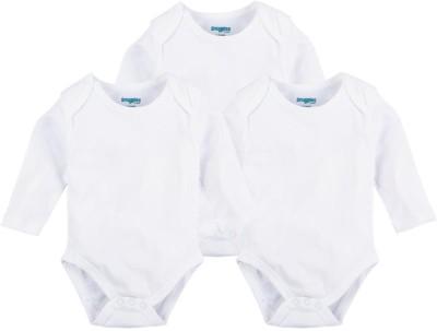 Snuggles Baby Boy's White Bodysuit