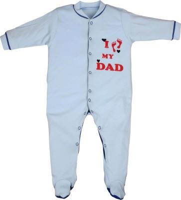Gkidz Baby Boy's Light Blue Sleepsuit