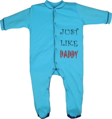 Gkidz Baby Boys Blue Sleepsuit