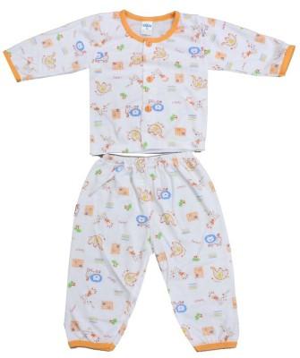 Romano Baby Boy's Multicolor Bodysuit and Bib
