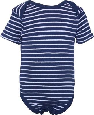 Teddy's Choice Baby Boy's Navy Bodysuit