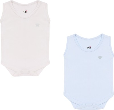 Lula Baby Boy's Blue, White Bodysuit
