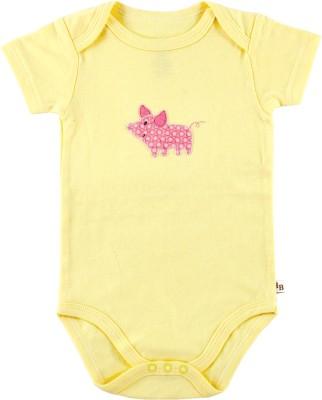 Hudson Baby Baby Girl's Yellow Bodysuit